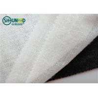 China 70gsm 50% Polyester 50% Viscose Warp Knitting Brushed Woven Fusible Interlining 90cm / 150cm for Suits / Overcoat wholesale