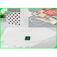 China Width 748mm × 528mm High Stiffness 250gsm White Top Liner Paper For Packing wholesale