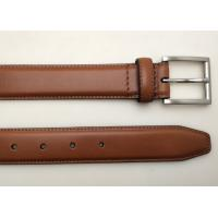 China Brown Black Navy Color Womens Leather Belt , Durable 100 Percent Leather Belt wholesale