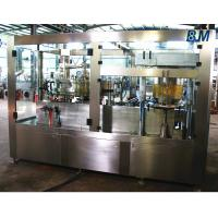 China AutomaticAluminum Can filling machine and sealing 2 in 1 for Soft / Carbonated Drink Water wholesale