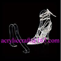 China Factory wholesale acrylic shoe rack / plexiglass shoe display holder wholesale