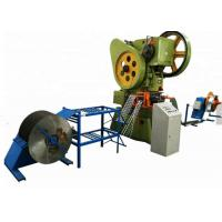 China Concertina Barbed Wire Making Machine , Automatic Razor Barbed Wire Machine wholesale