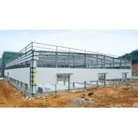 China Hot - dipped Galvanized C & Z Beams Garage Steel Frame House-Light steel frames wholesale