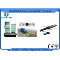 Safety Anti Terrorism Colorful Vehicle Surveillance System , Under Vehicle Scanning System Manufactures