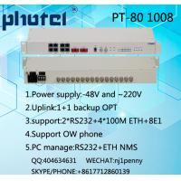 China 8E1 PDH MUX, Dual power supply AC+DC, 75ohms wholesale