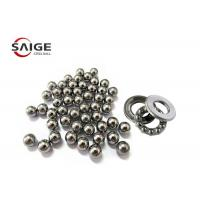China 1.588mm Miniature Steel Balls , G10 52100 Chrome Steel Balls For Thrust Bearings wholesale
