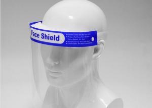 China 32*22cm Double Sided PET Coated Anti Splash Face Shield wholesale