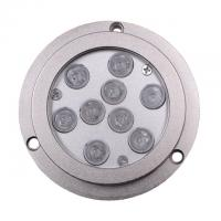 China Anti-oxidation RGB External Control Boat Underwater LED Lights 27 Watt IP68 wholesale