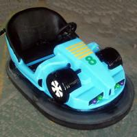 Buy cheap Theme Park Bumper Cars Ride Red Green Blue Color Fiber Glass Material from wholesalers