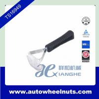 China Small Tire Repair Material For Auto , Hoe Style Inner Scraper With Plastic Handle wholesale