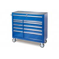 China Heavy Wheels Industrial Roller Cabinet 11 Drawer Stainless Steel SPCC Material wholesale