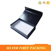 China Silver First  accept custom made logo printing decorative book shape magntic paper storage gift boxes wholesale