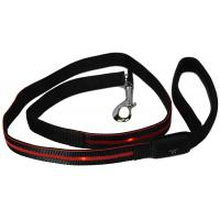 Buy cheap Reflective LED Light Dog Leash Soft Padded Handle For Safety Comfort from wholesalers