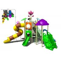 China Colorful Galvanized Pipe And LLDPE Kids Water Slides Outdoor Park For Water Equipment wholesale