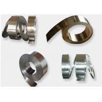 China Thickness 0.2 - 0.5mm Metal Cold Roll , Precision 301 Stainless Steel Strip Stock on sale