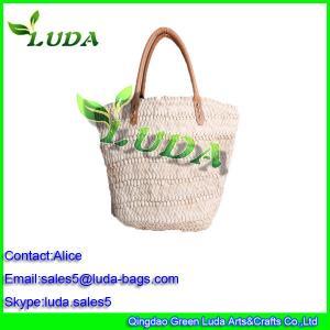 China clutch bags beach bags hobo hand bags corn husk straw bags on sale