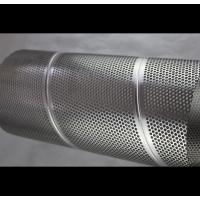 Buy cheap Audio Perforated Stainless Steel Cylinder , Architecture Perforated Stainless from wholesalers