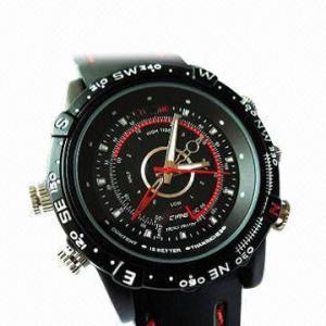 China Waterproof Watch Camera with 4GB Internal Memory wholesale