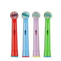 Quality EB-10A Sonicare Oral B Kids Electric Toothbrush Replacement Heads 0.12mm Diameter Soft Bristles for sale