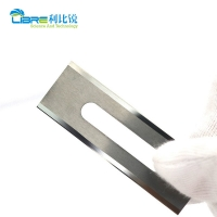 China 57mm Length 0.4mm Slotted Film Cutting Blade wholesale