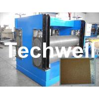 Quality Color Steel Embossing Machine For Garage Door, Refrigerator, Decorative Materials for sale