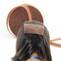 China Hot sell magic tape hair rollers Hair fringe hair  hair accessories hook and loop wholesale
