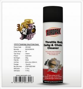China AEROPAK 500ML aerosol spray can Throttle Body, Carby and Choke Cleaner wholesale