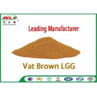 China Professional Synthetic Dyes Vat Brown Lgg Natural Textile Dyes Eco Friendly wholesale
