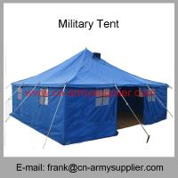 China Wholesale Cheap China Army UN Blue Refugge Relief Commanda Police Military Tent wholesale