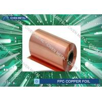Double Shiny  RA Copper Foil For FPC ,Roll Size  Maximum Width 650