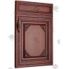 China Veneer Solid Molded Interior Doors , Soundproof Molded Panel Doors wholesale