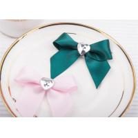 China Decoration Tie Satin Ribbon Bow WashableHome Textile With Dyeing wholesale