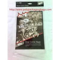 China Printed Transparent Self Adhesive Plastic Bags For Books / Toys / Gift wholesale