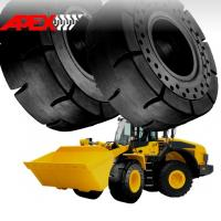China APEX 20.5-25 Solid Tire, Cushion Tyre for Wheel Loader, Integrated Tool Carrier, Elevating Motor Scraper wholesale