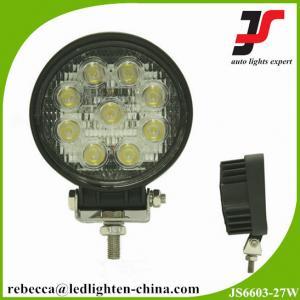 China China 4x4 accessories automotive led lights 27w cree led work light wholesale