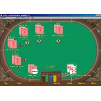 China English Version Texas Holdem Analysis Software With XP System , Poker Tournament Software wholesale