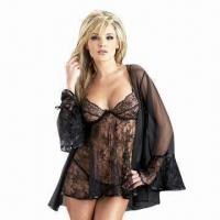 China Lace Babydoll with Shoulder Coat, One Size Fits All wholesale