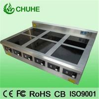 China 304# 6 burner commercial cooking inducton clay pot furnace wholesale