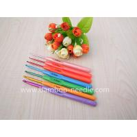 China 7 Sizes( 2.5mm-5mm)Multicolour Plastic Crochet Hooks Needles 5.5 (~14 cm) wholesale