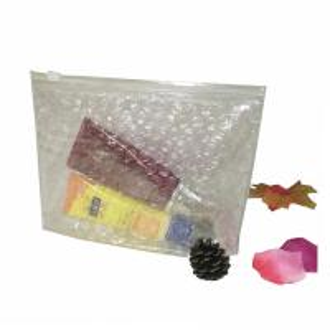China Hot selling customized size zipper bag air bubble ziplock bags wholesale