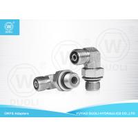 Buy cheap Carbon Steel Hydraulic 90° Elbow ORFS To BSP Male O Ring Seal Fittings from wholesalers