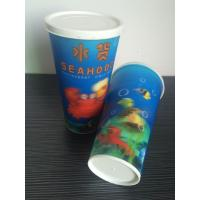 China 3D lenticular drinking plastic promotional cheap straw cup on sale