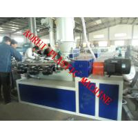 China Single Wall Corrugated Plastic Pipe Extrusion Machine 380V 50HZ on sale