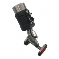 China Stainless Steel Angle Seat Control Valve on sale