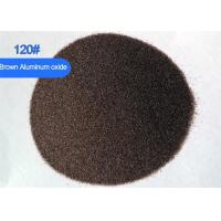 China Al2O3 95% 80 Grit Aluminum Oxide Media , Surface Cleaning Aluminium Oxide Blasting wholesale