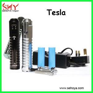 Quality Tesla vv mod adjustable wattage dry herb vaporizer tesla vv mod kit patent for sale