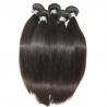 China Straight Virgin Human Hair Bundles Peruvian Hair Extension Full Cuticle No Acid wholesale