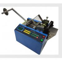 China Heavy Duty Heat Shrink Sleeve Cutting Machine For Cutting Non - Adhesive Materials wholesale