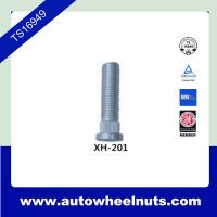 China White Zinc Material 40Cr Wheel Studs Knurl Studs / Auto Wheel Studs wholesale