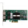 China Femrice 10/100/1000Mbps Dual Port RJ45 Slots Ethernet Server Adapter Intel 82576EB Chipset PCIex4 Server Network Cards wholesale